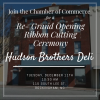 Hudson Brothers Re-Grand Opening Ribbon Cutting Ceremony
