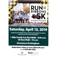 Run for the Ribbons 5K & Family Run Fun