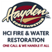 HCI Fire and Water Restoration
