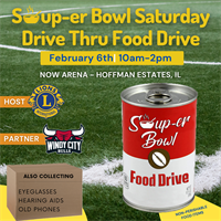 Soup-er Bowl Saturday Drive Thru Food Drive