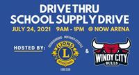 Drive Thru School Supply Drive at NOW Arena