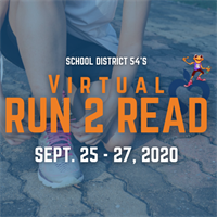 School District 54 Run to Read - Benefiting D54 Foundation Crisis Fund - Sept. 25-27