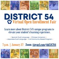 School District 54 Open Enrollment Fair