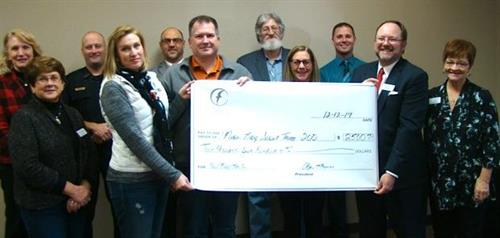 NCF provides grant monies for worthwhile projects for many Nixa groups, including the Boy Scouts.