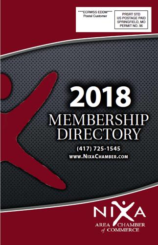 2018 Nixa Chamber Directory