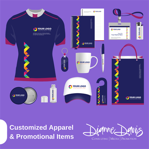 Customized Apparel & Promotional Items for Businesses & Nonprofit Organizations