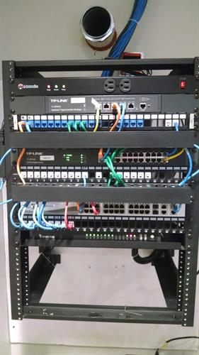 Network Rack and Cable Management