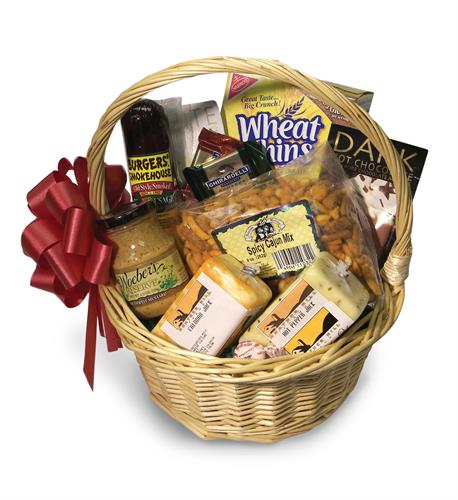 Heather Hill Farms can make beautiful baskets for you. Custom made in any price range.