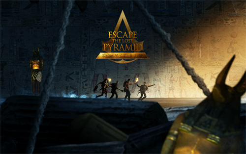 Ubisoft - Escape the Lost Pyramid multiplayer VR escape room challenge