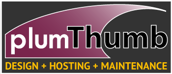plumThumb Website Design & Hosting
