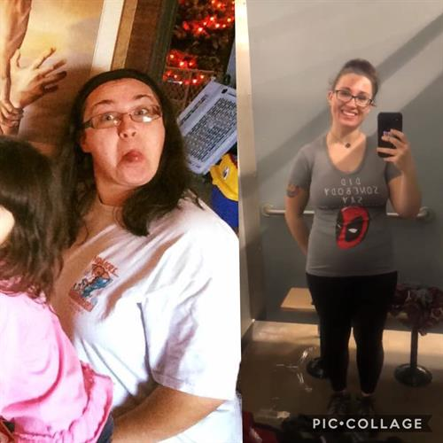 Lost over 50lbs