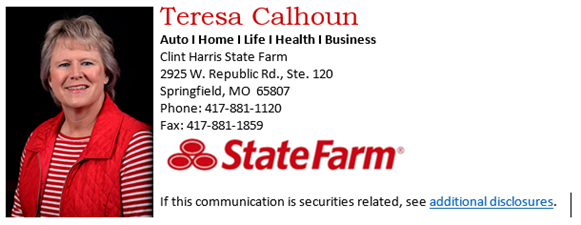 Teresa Calhoun - State Farm Representative