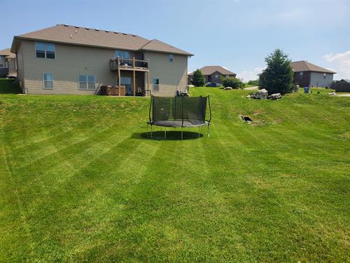 Lawn we maintain in Ozark 65721