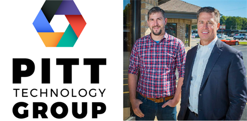 Kevin Waterland and Doug Pitt Co Owners of Pitt Technology Group