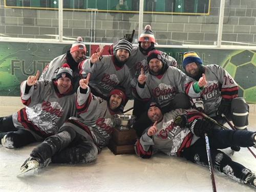 "2018 Tradition Pond Hockey ""Champions"""