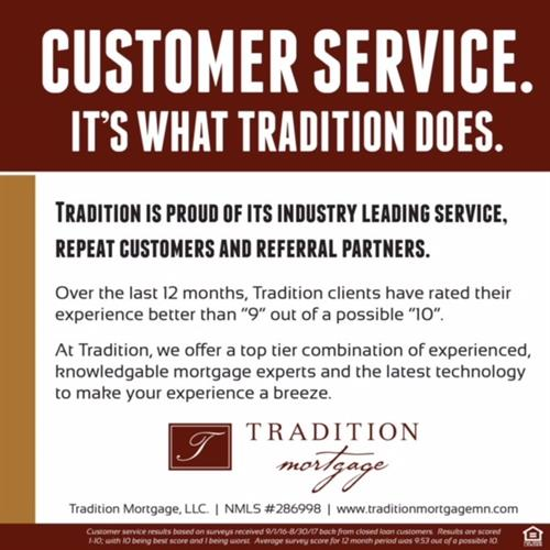 "Tradition Mortgage ""Customer Service"""