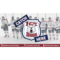 Fairbanks Ice Dogs at the Red Baron Arena & Expo