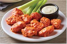 Enjoy 3 sauce options; Classic Buffalo, Honey BBQ or Sweet Asian Chile