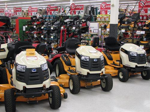Prepare for the snow with Cub Cadet, available at Runnings in Marshall