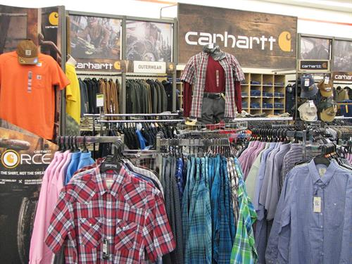 Carhartt apparel and footwear available at Runnings