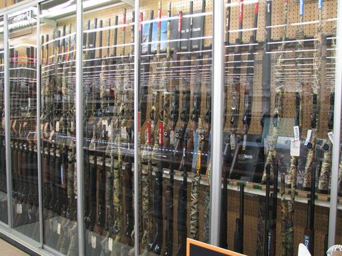 Areas largest selection of guns at Runnings