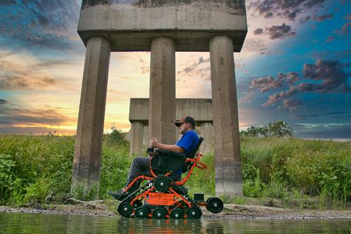 Go where you want not where you can. Sand, snow, or mud; are no longer a factor with the Action Trackchair.
