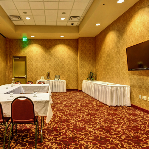 Small group breakout room  for rent at Prairie's Edge Casino Resort