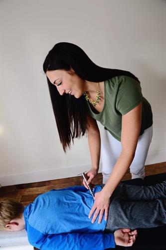 We offer gentle & specific chiropractic adjustments perfect for all ages