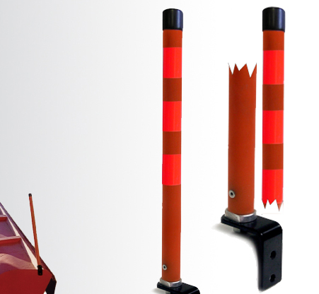 High Visibility Snow Plow Marker