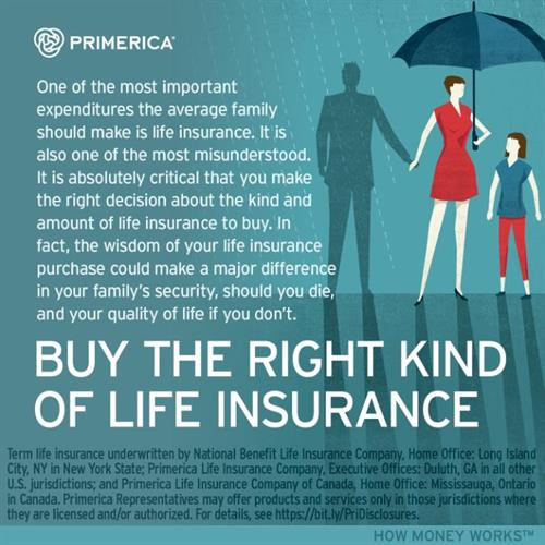 Buy The Right Kind of Life Insurance.