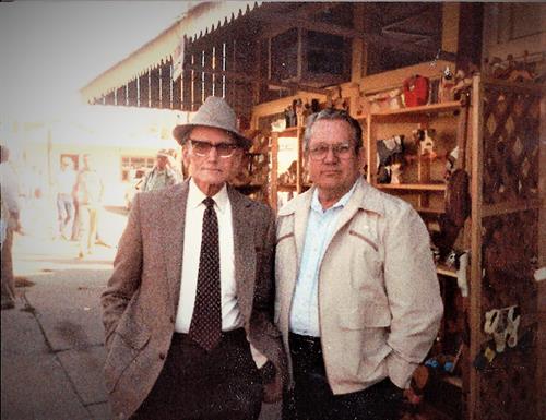 Glenn Layton Sr. who started Layton Real Estate and Glenn Layton Jr.