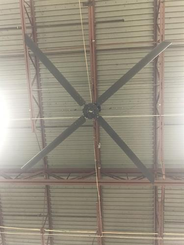 Hunter industrial fan 18 foot.