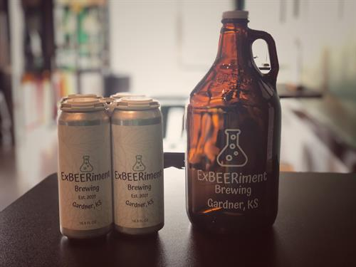 Cans and growlers available