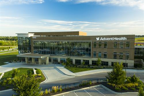AdventHealth South Overland Park medical office building