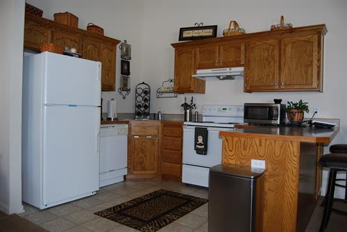 Split Kitchen Area