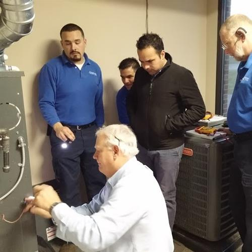 Andersen Heating & Cooling - AC & Furnace Training
