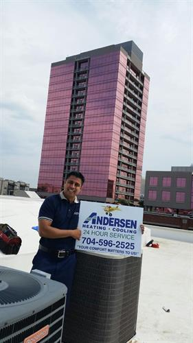 Andersen Heating & Cooling - Light Commercial