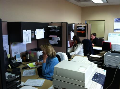 Andersen Heating & Cooling - Office Hard at Work
