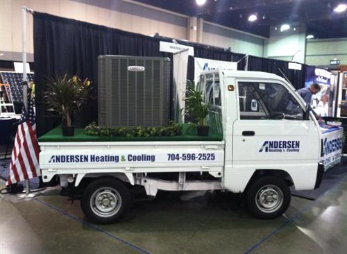 Andersen Heating & Cooling Display