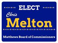 Town of Matthews Commissioner Chris Melton