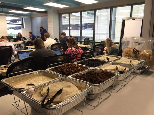 Qdoba is catering for office parties and luncheons in Matthews and surrounding areas