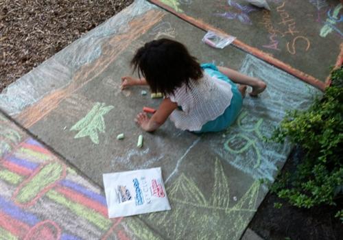Kiwanis Kids Art in the Park - June