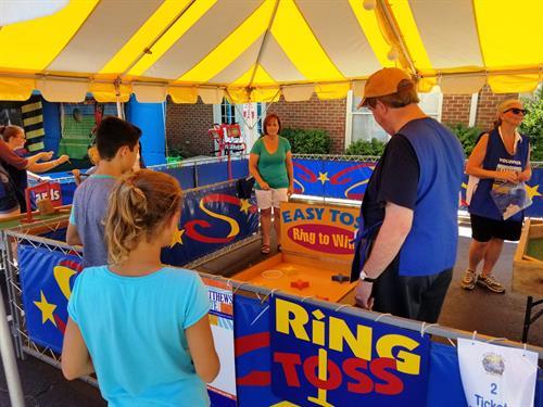 Kiwanis Matthews Alive Game Booth