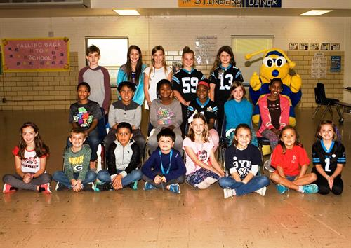 Kiwanis Terrific Kids - Every Month at 5 Schools