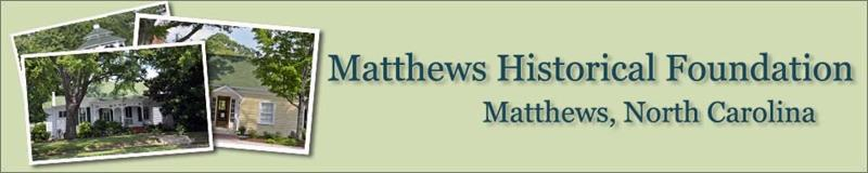 Matthews Historical Foundation/Reid House