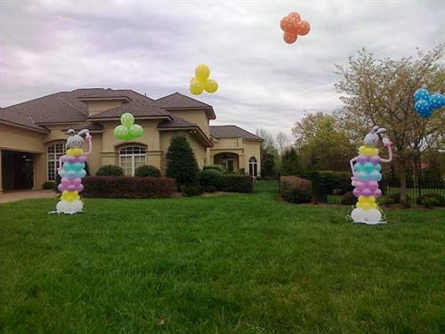 Outdoor Easter Decor