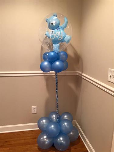 Baby Shower Balloon Column