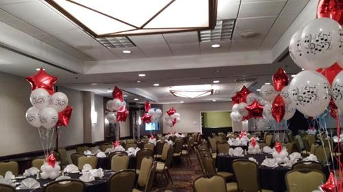 Balloon Helium centerpieces