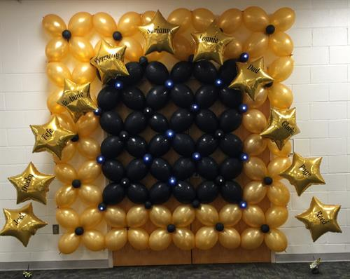Balloon Wall Lighted