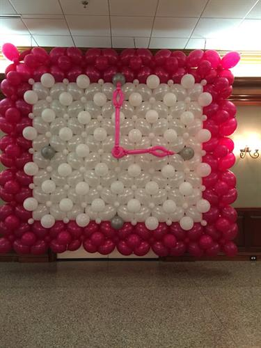 Custom Themed Balloon Wall